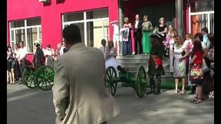 Пушки на свадьбе в Смоленске