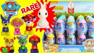Paw Patrol Surprise Eggs with Rare Bunny Find