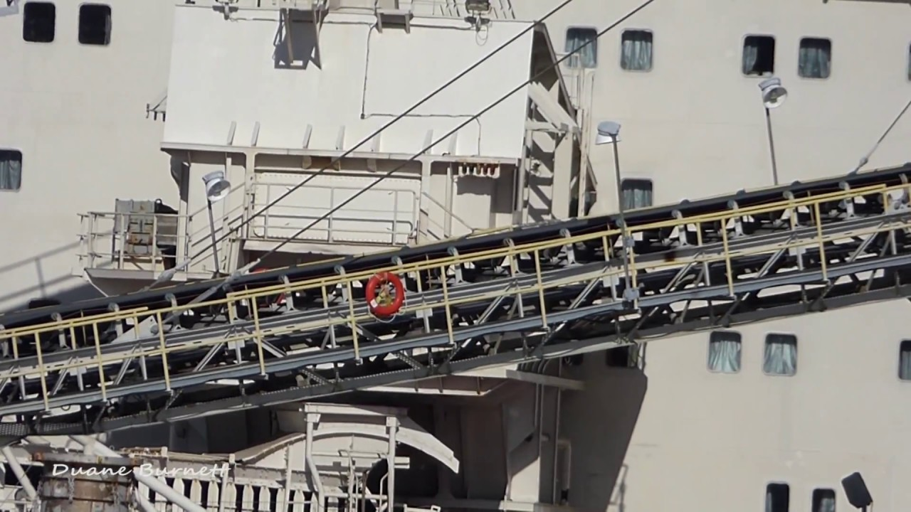 Lehigh Conveyor Collapses on Freighter in Sechelt HD