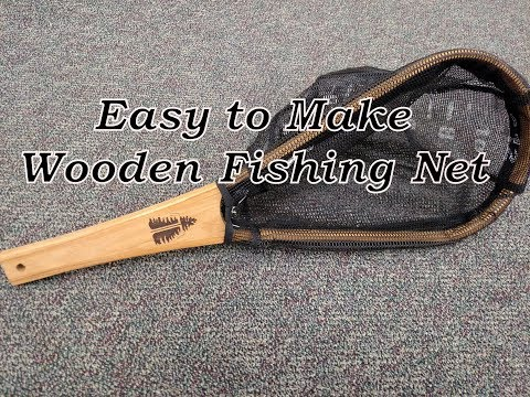 Wooden Fishing Net, How To