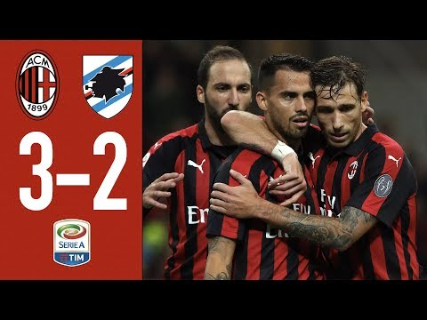 Highlights AC Milan 3-2 Sampdoria - Matchday 10 Serie A 2018/2019