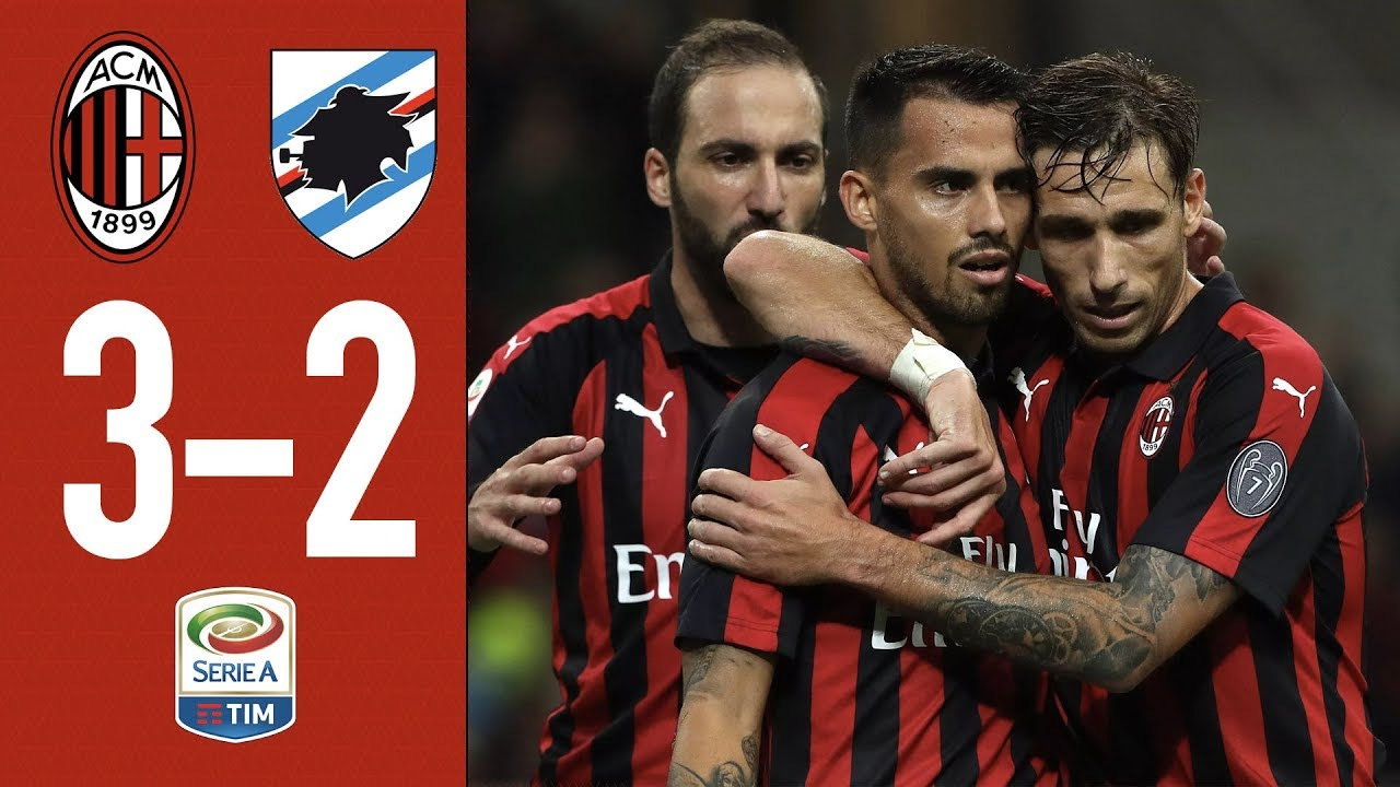 Highlights AC Milan 3-2 Sampdoria - Matchday 10 Serie A 2018/2019
