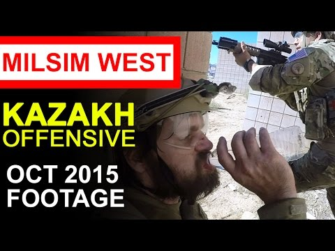 MilSim West: Kazakh Offensive NATO - Narrative [36 Minutes] Detailed Airsoft Video