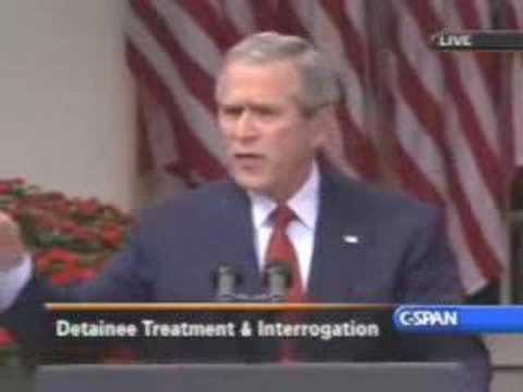 George Bush vs Geneva Convention