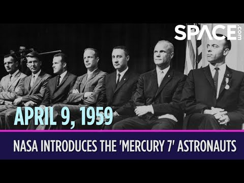 OTD in Space April 9 NASA Introduces the Mercury 7