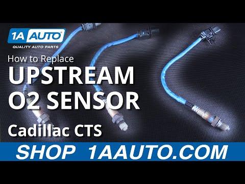 How to Replace Install Passenger Upstream O2 Sensor 06 Cadillac CTS