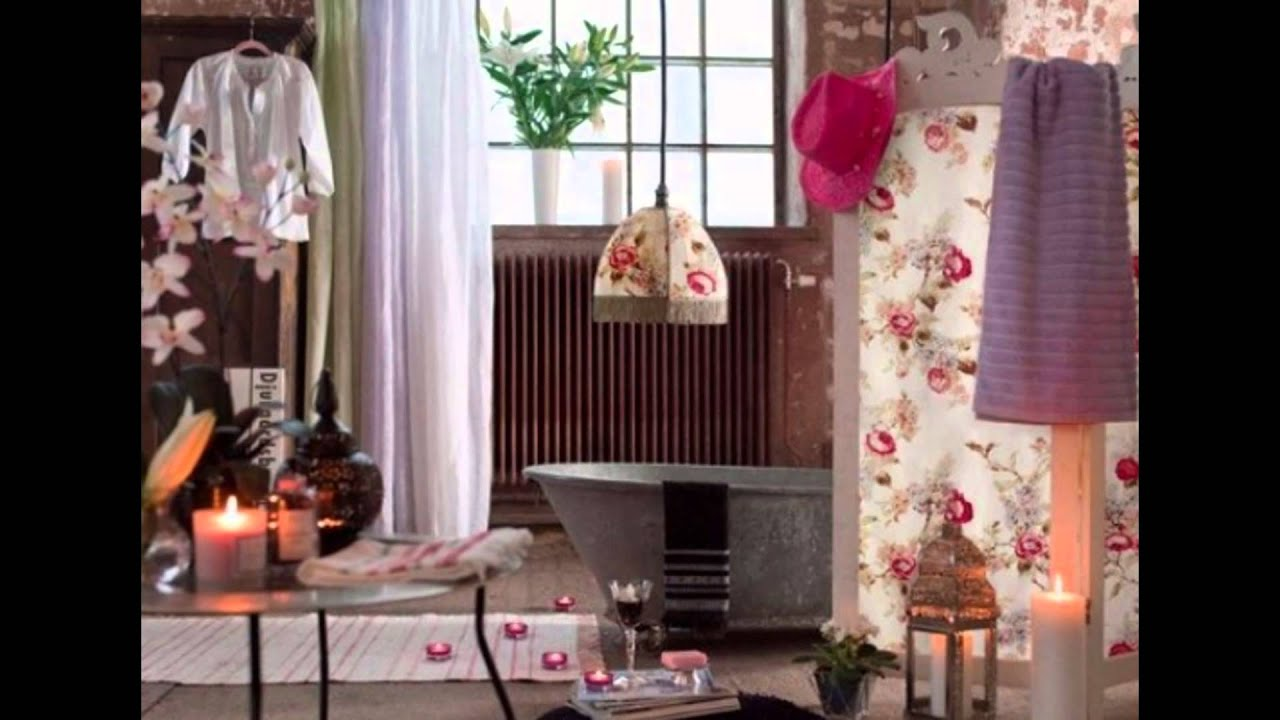 Bohemian Bathroom Decor Mirror Wall Ideas