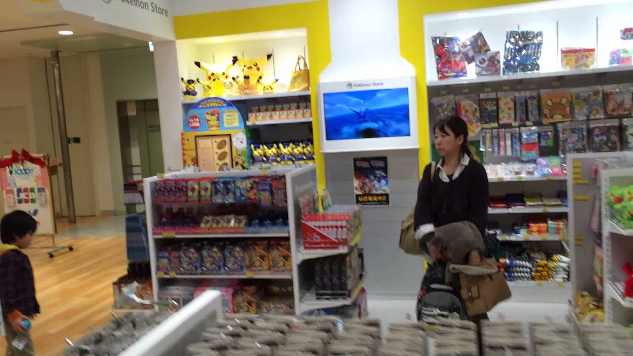 Pokemon Store In Kagoshima Japan