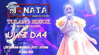 Download Lagu TULANG RUSUK - ULFI DA4 - NEW MONATA - RAMAYANA AUDIO mp3
