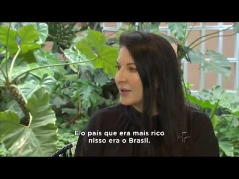 Metrópolis: Marina Abramovic e o Brasil