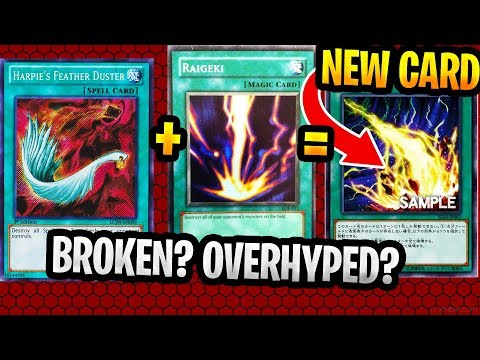 New Yugioh Card Lightning Storm Raigeki And Harpies Feather Duster? : Broken? Overyhyped?