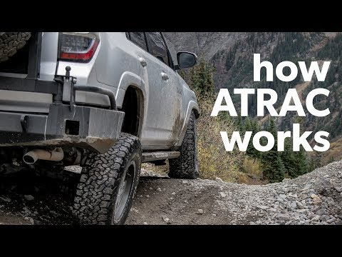 How ATRAC Actually Works in a Toyota 4Runner - tested at Yankee Boy Basin
