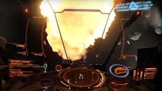 Bounty hunting with Vulture in Elite: Dangerous on Oculus Rift DK2