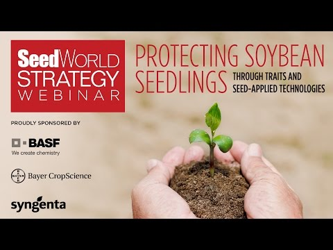 Offering Solutions in the Protection of Soybean Seedlings: A Seed World Strategy Webinar
