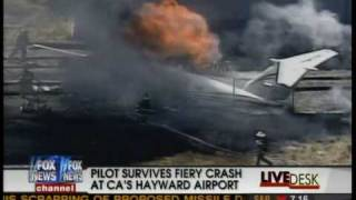 Beechcraft King Air Crash Fox News Channel Hayward, CA
