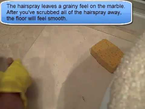 how to clean a marble floor or any natural stone youtube
