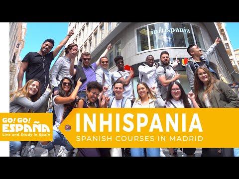 Study Spanish in Madrid @ INHISPANIA by Go! Go! España - Live & Study in Spain