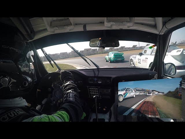 VR Racing onboards #3 - Belcar Youngtimer Cup Race 1 opening laps