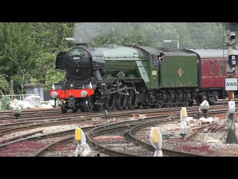 60103 Flying Scotsman on The Cathedrals Express at Bristol TM May 23rd 2017