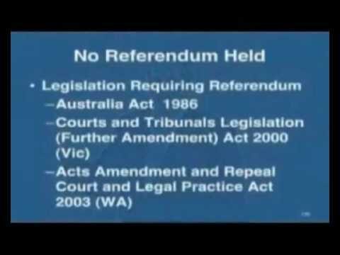 Australian Government Acts of Treason  4/4
