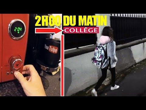 PRANK STORY • KALYS PART AU COLLÈGE À 2H DU MATIN ! - Studio Bubble Tea