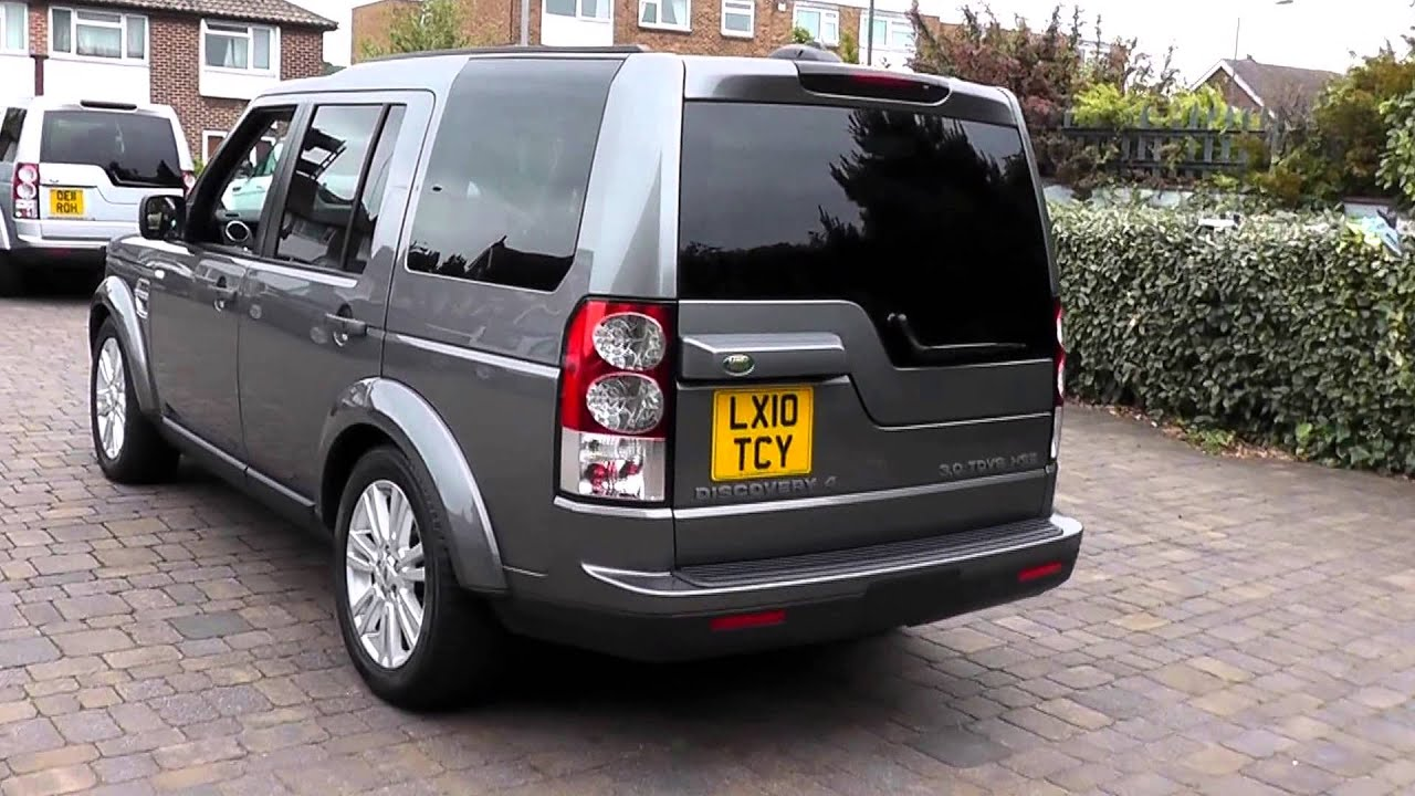 2010 Land Rover Discovery 4 Hse Stornoway Grey 3llx10tcy