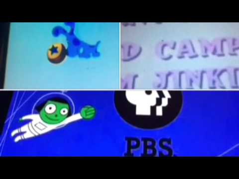 Allegra's Window, Blue's Clues, Reading Rainbow, & Seven Little Monsters Credits Remix