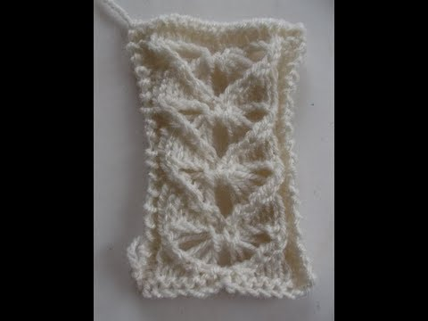 Tricot Tuto Du Coeur Au Point De Dentelle