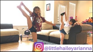 Hailey Arianna learns GYMNASTICS! Shopping for MAKEUP at CLAIRE'S, Creating My Own Lunchbag!