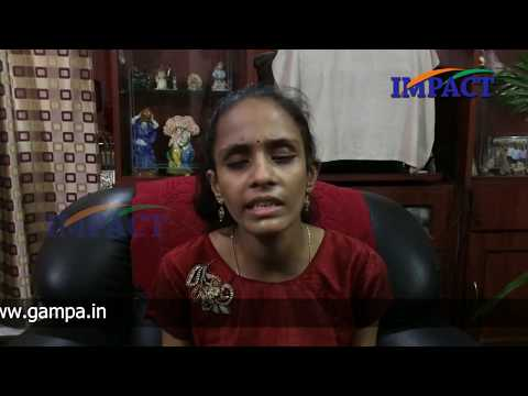 Vaishnavi-Sharing her views regarding IMPACT Program