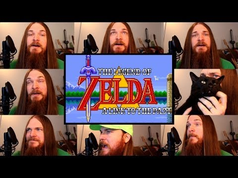 Zelda A Link to the Past  Overworld Theme Acapella