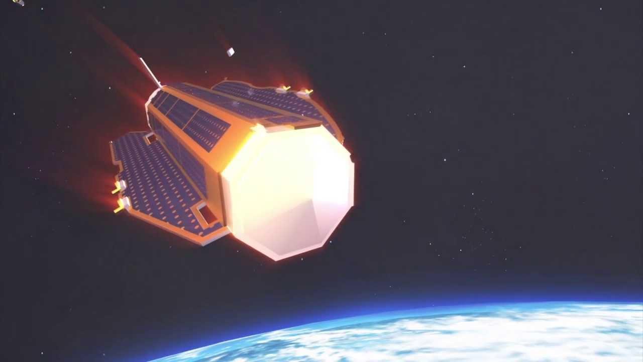 esas goce gravitymapping satellite to fall to earth next