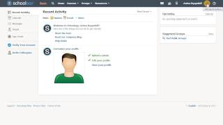 Як налаштувати свій аккаунт в Schoology.com (LMS)