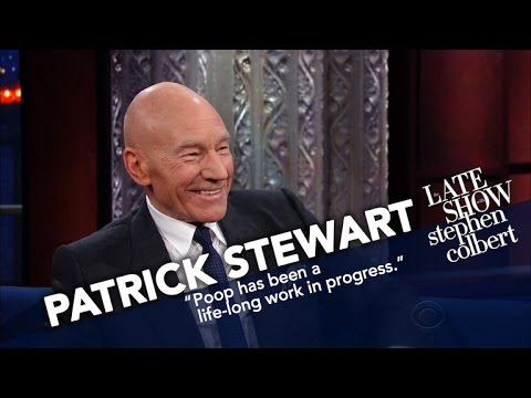 Sir Patrick Stewart's Next Distinguished Role: Poop Emoji