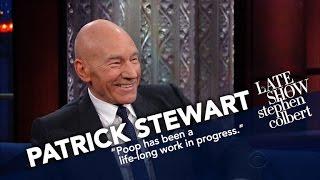 Sir Patrick Stewart's Next Distinguished Role: Poop Emoji