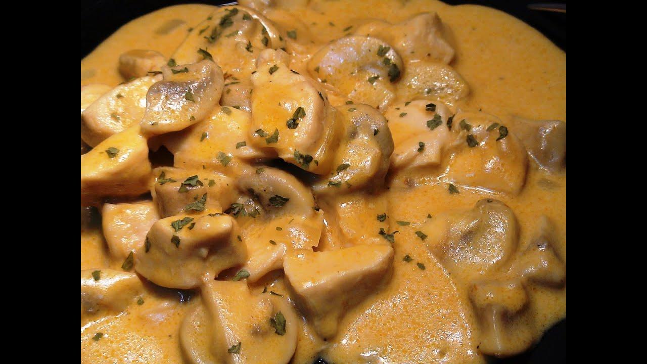 Receta pollo en salsa strogonoff recetas de cocina paso for Blogs de cocina facil