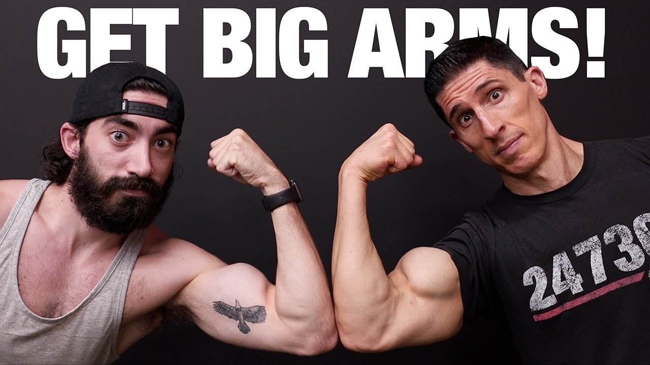 Arm Workout for BIGGER Arms (FIX SKINNY ARMS!)