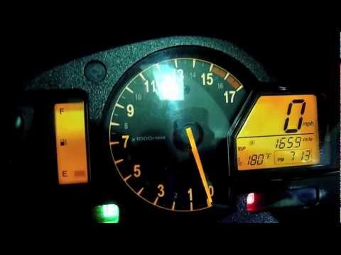 08 Cbr600rr 49 Mpg 234 Mile Tank Of Gas