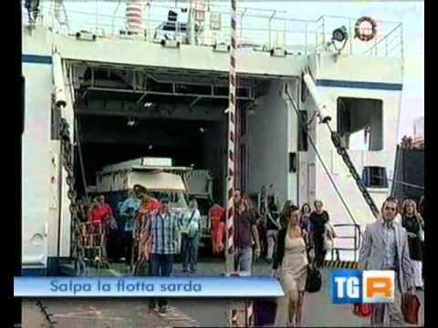 """Salpa la """"Scintu"""", il servizio del TG R Sardegna"""