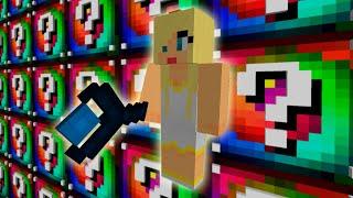 Minecraft: LUCKY SPIRAL | ANGEL DE LUZ!! | Desafío de la Suerte Especial - #96