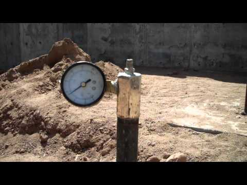 Testing of Plumbing Drains and Plumbing Vents Under Concrete Floor (5 of 5)