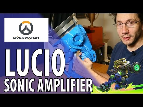 3D Printing the Lucio Sonic Amplifier Overwatch Gun Build Part 1