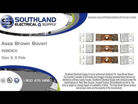 Asea Brown Boveri, ABB, EG801CK, Nema Size 3, 3 Pole, Contact Kit