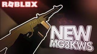 NEW MG3KWS LMG in PHANTOM FORCES! (ROBLOX)