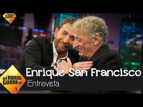 El gran consejo de vida que Enrique San Francisco le dio a Pablo Motos streaming vf