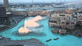 Dubai Fountains 2013 Burj Khalifa 1080P