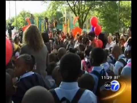 LEARN Charter Back to School - ABC-7 Coverage