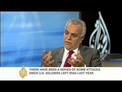 Tariq al Hashemi speaks