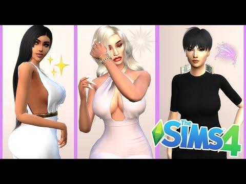 KARDASHIAN JENNER FAMILY CREATE A SIM | The Sims 4