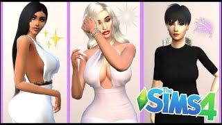 KARDASHIAN JENNER FAMILY CREATE A SIM   The Sims 4